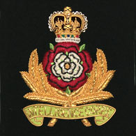 Intelligence Corps Wire Blazer Badge
