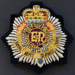 RASC wire blazer badge