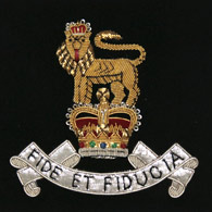 Royal Army Pay Corps Wire Blazer Badge