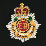 Royal Corps of Transport Wire Blazer Badge