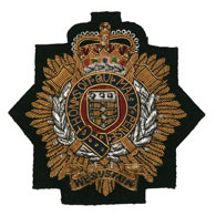 Royal Logistics Corps wire blazer badge