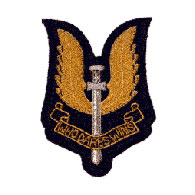 SAS Wire Blazer Badge