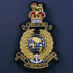 RAF Silk Blazer Badge