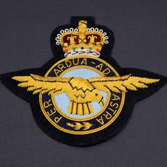 RAF Blazer Badge