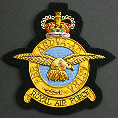 RAF Blazer Badges