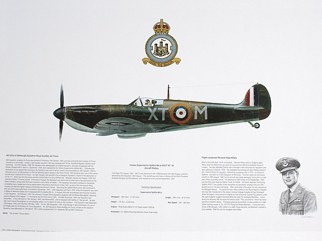 Spitfire of 603 Squadron Print