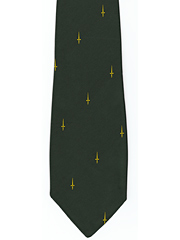 3 & 41 Commando Royal Marines Gold Dagger Logo Tie