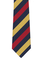 Royal Army Medical Corps Wider Striped Tie