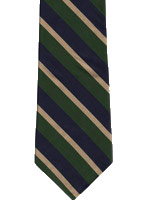 Kings Own Yorkshire Light Infantry Striped Tie