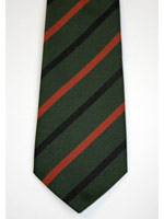 Royal Green Jackets Striped Tie