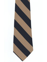 The Buffs Regiment Polyester Striped Tie