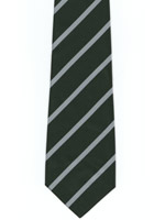 Cardiff University Polyester Striped Tie