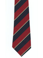 University of Wales Polyester Striped Tie
