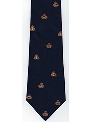 Royal Navy cap badge motif Logo Tie