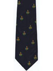 Royal Marines logo tie