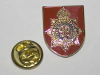 Pin Badge and safety fastener