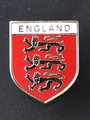 England 3 Lions, Pin Badge