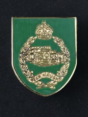 Royal Tank Regiment (2nd RTR) Pin Badge